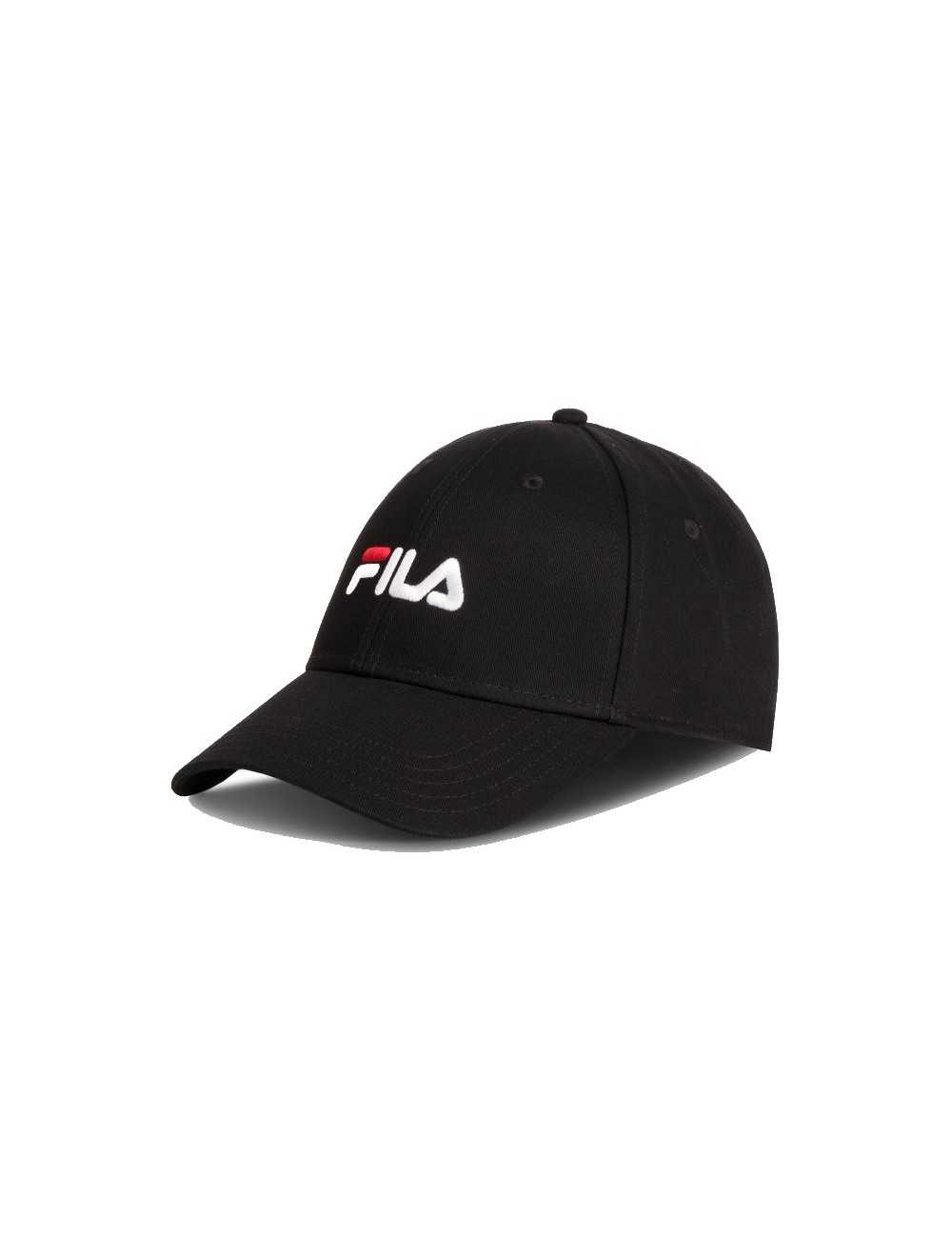 CAPPELLINO UNISEX FILA 6 PANEL CAP LINEAR LOGO