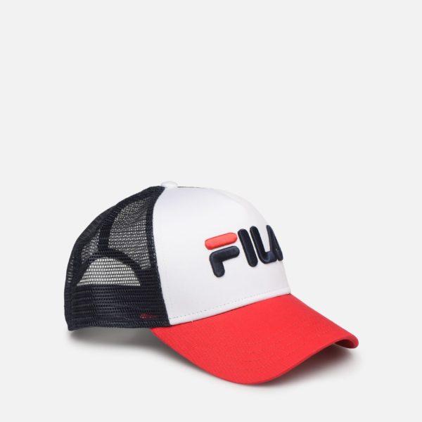 CAPPELLINO TRUCKER CAP UNISEX FILA TRUCKER CAP LINEAR LOGO