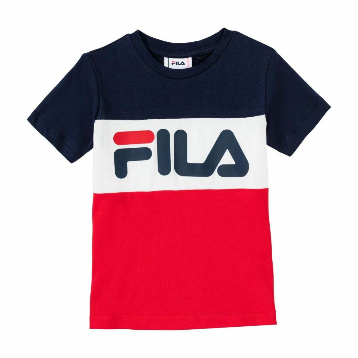 T-Shirt Fila Kids Classic Day Blocked Tee