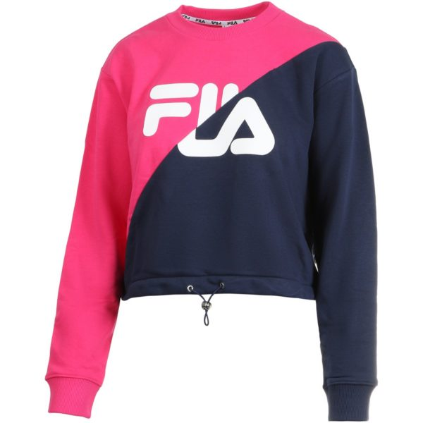 FELPA GIROCOLLO DONNA FILA WOMEN BANJI CROPPED SWEAT