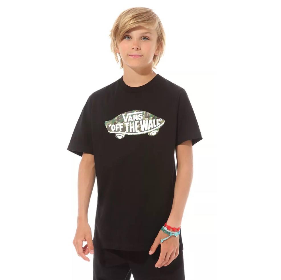 T-Shirt Vans Boy Otw Logo Fill