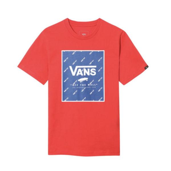 T-Shirt Vans Boy Print Box