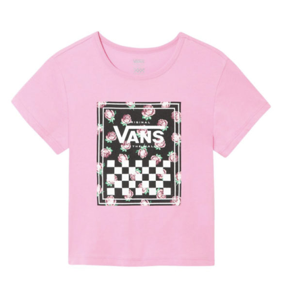 T-Shirt Vans Girl Boxed Rose
