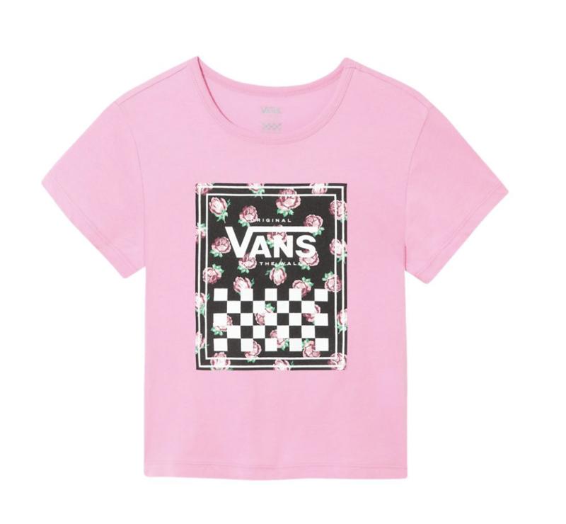 T-Shirt Vans Girl Boxed Rose