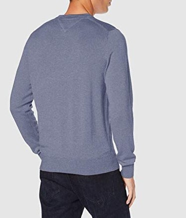 Maglia Tommy Hilfiger Organic Cotton Silk Crew Neck