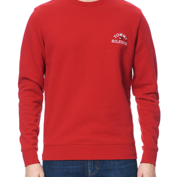 FELPA GIROCOLLO UOMO TOMMY HILFIGER BASIC EMBROIDERED SWEATSHIRT