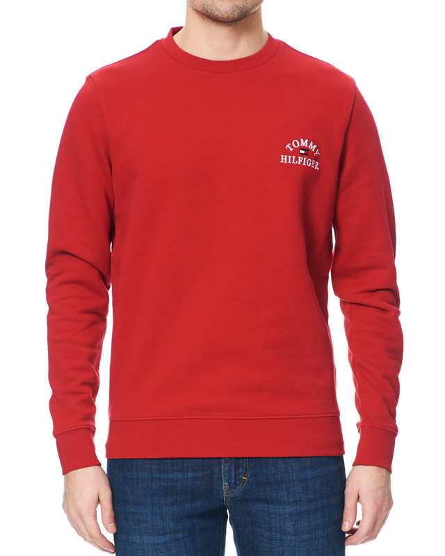 Felpa Tommy Hilfiger Basic Embroidered Sweatshirt