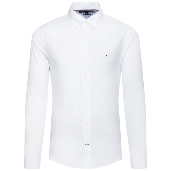 Camicia Tommy Hilfiger Natural Soft End On End Shirt