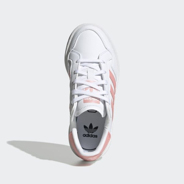 SNEAKERS BASSE BAMBINO ADIDAS TEAM COURT