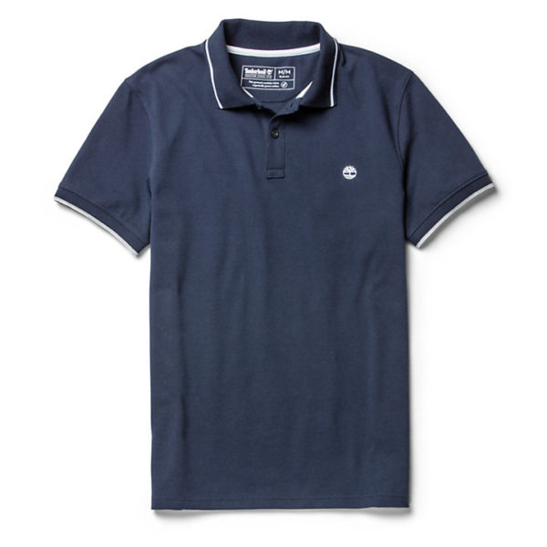 POLO MANICA CORTA UOMO TIMBERLAND SS MR PIQUE TIPPED POLO