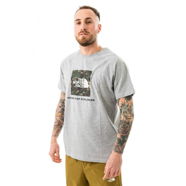 T-SHIRT MANICA CORTA UOMO THE NORTH FACE MEN SS RAGLAN REDBOX TEE - EU