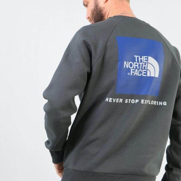 Felpa The North Face Men Raglan Redbox Crew - EU
