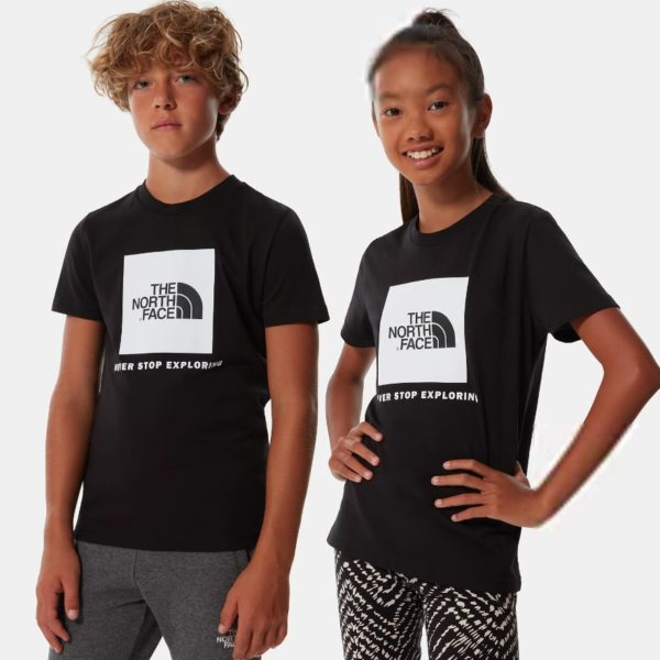 T-SHIRT MANICA CORTA BAMBINO THE NORTH FACE YOUTH BOX SS TEE