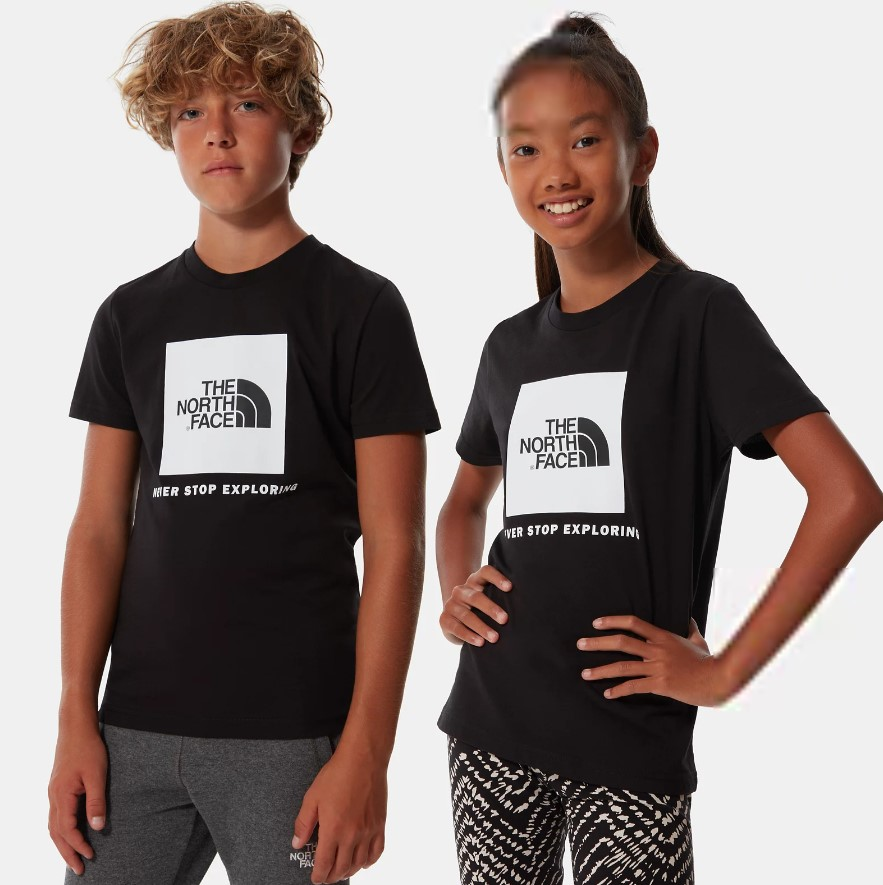 T-Shirt The North Face Youth Box SS Tee