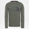 T-SHIRT MANICA LUNGA BAMBINO THE NORTH FACE YOUTH EASY LS TEE