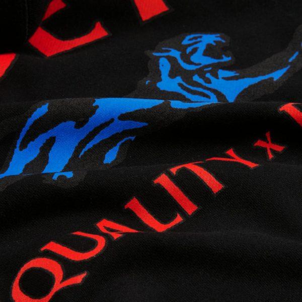 FELPA UOMO OBEY OBEY EQUALITY X POWER BOX FIT PREMIUM