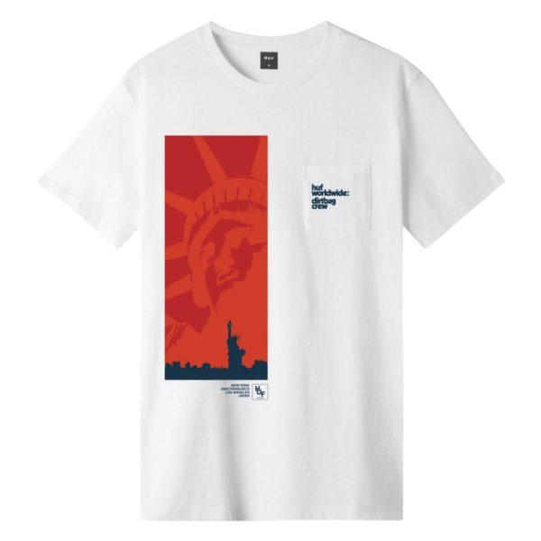 T-Shirt Huf Liberty SS Pocket Tee