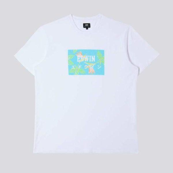 T-Shirt Edwin Edwin Birds Of Paradise Logo Box Ts