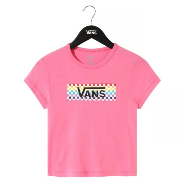 T-SHIRT MANICA CORTA BAMBINO VANS GIRL CHECK TANGLE BABY