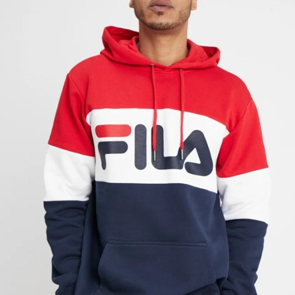 FELPA FILA MEN NIGHT BLOCKED HOODY