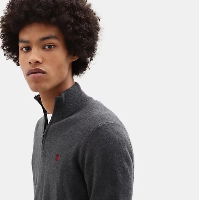 Maglia Timberland Half Zip Sweater