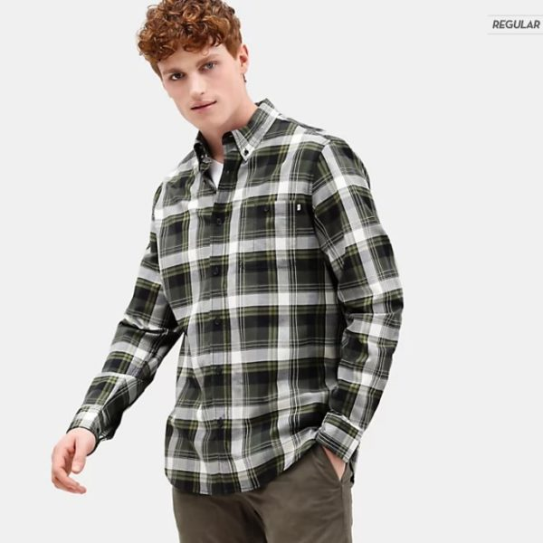 Camicia Timberland LS B-R Brushed Ctt