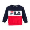 Felpa Fila Kids Night Blocked Crew Shirt