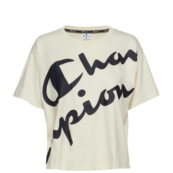 T-Shirt Champion Crop Top