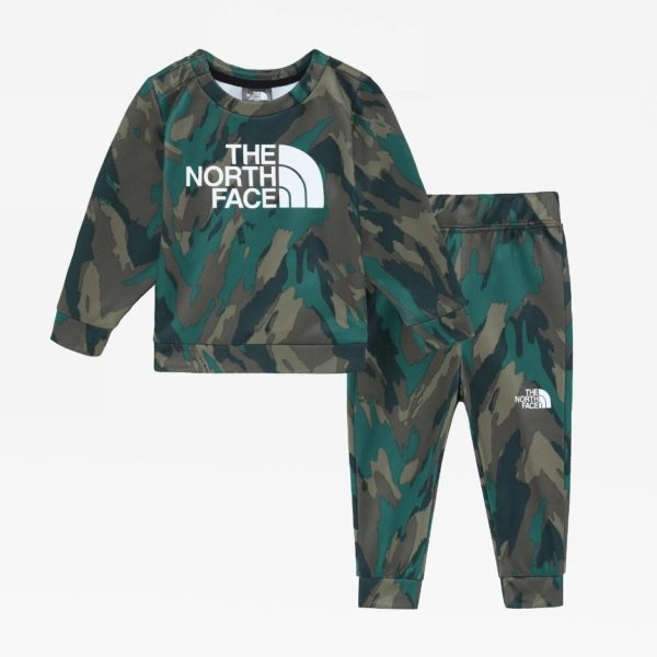 SET TUTA NEONATO THE NORTH FACE INFANT SURGENT CREW SET