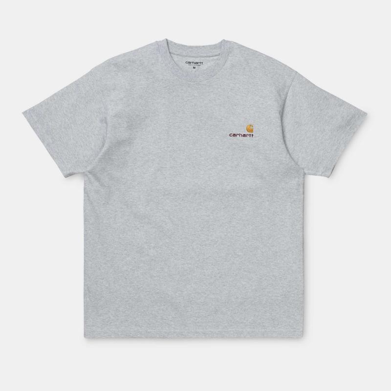 T-Shirt Carhartt SS American Script T-Shirt - No Wash