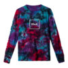 T-SHIRT HUF PRISM WASH DOMESTIC L/S TEE