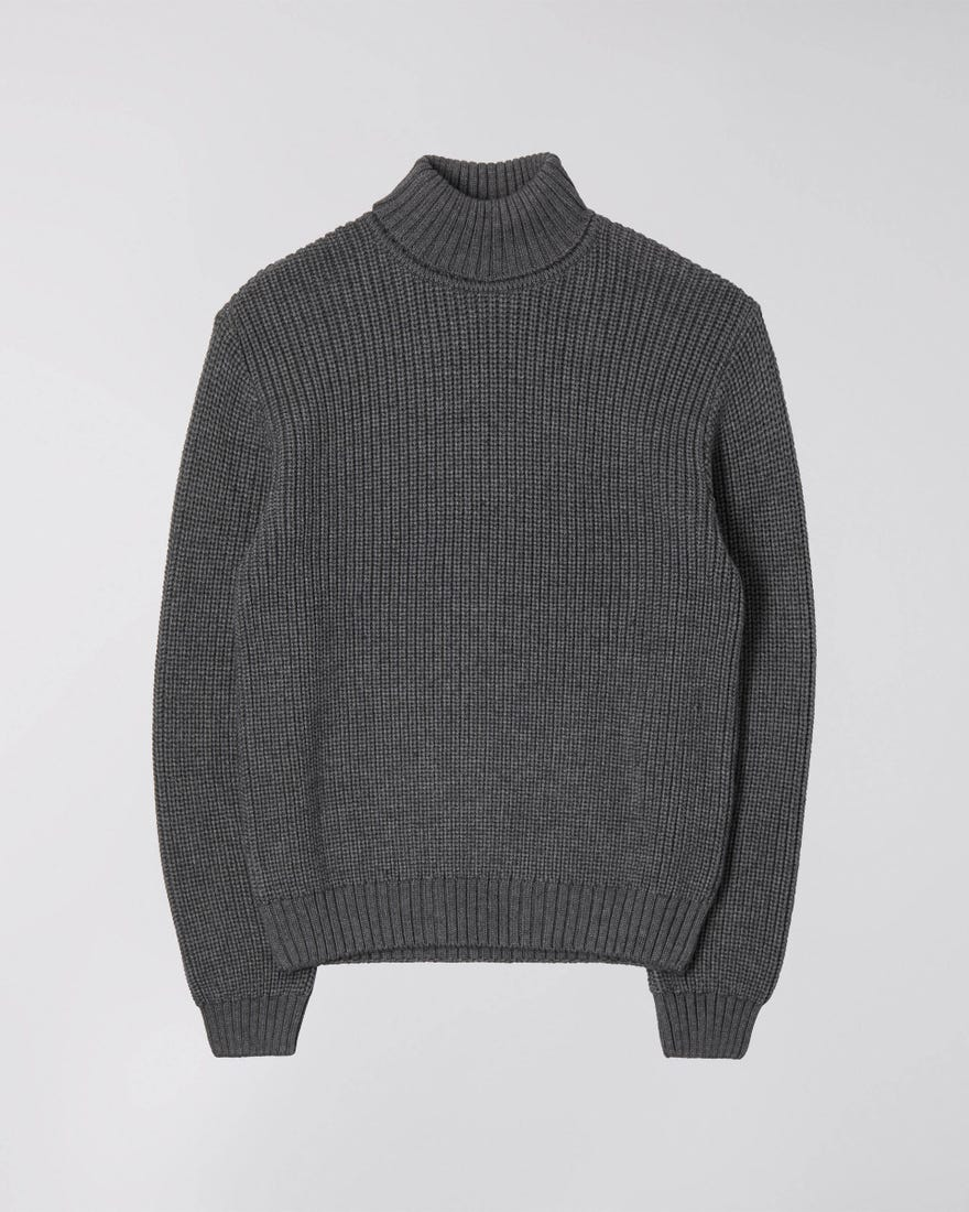 Maglione Edwin Line Rollneck Sweater