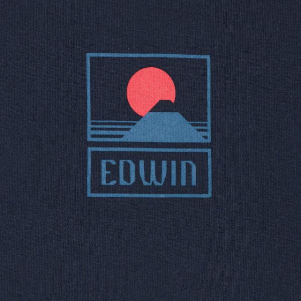 T-SHIRT MANICA CORTA UOMO EDWIN SUNSET ON MT. FUJI TS