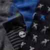 Calze Timberland 6Pp Logo Stripe Mix Crew Gift Box