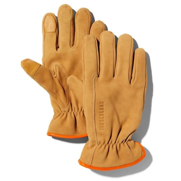 GUANTI UOMO TIMBERLAND WORKWEAR INSPIRED NUBUCK LEATHER GLOVE