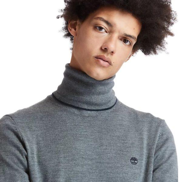 Maglia Timberland Merino Turtle Sweater