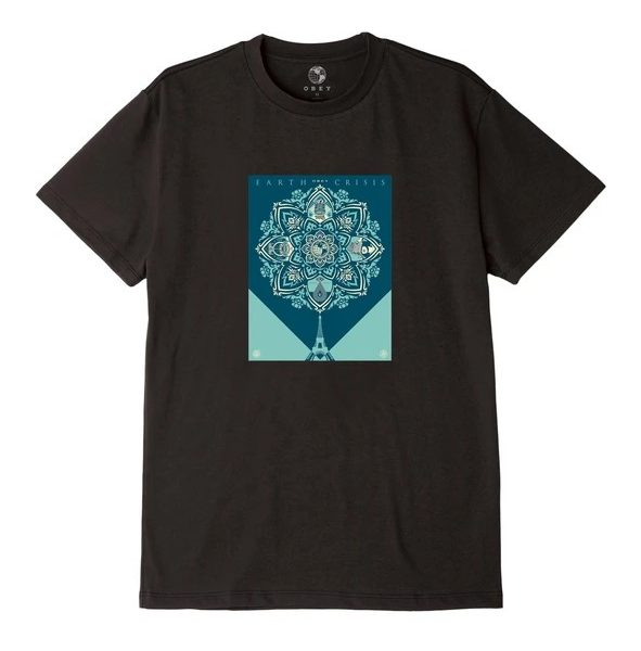 T-SHIRT OBEY EARTH CRISIS SUSTAINABLE TEE