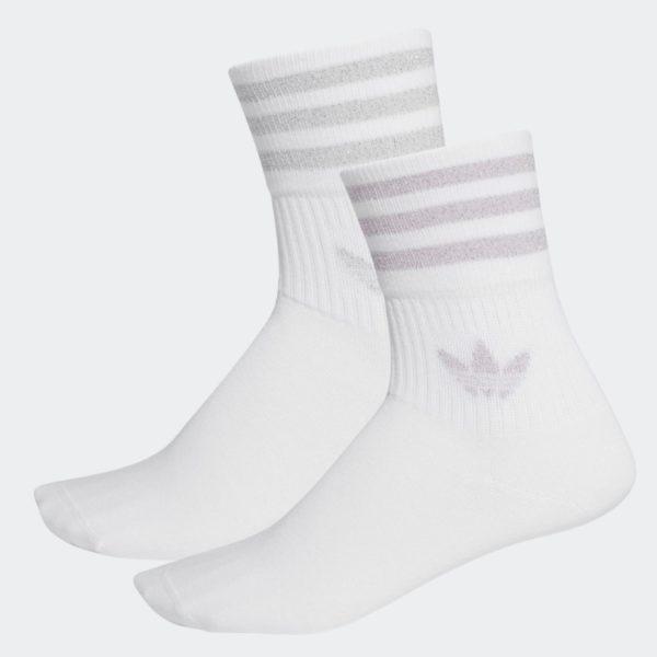 Calze Adidas Mid Cut Glitter Socks