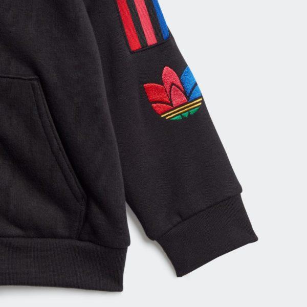Set Tuta Adidas 3D Trefoil Hood