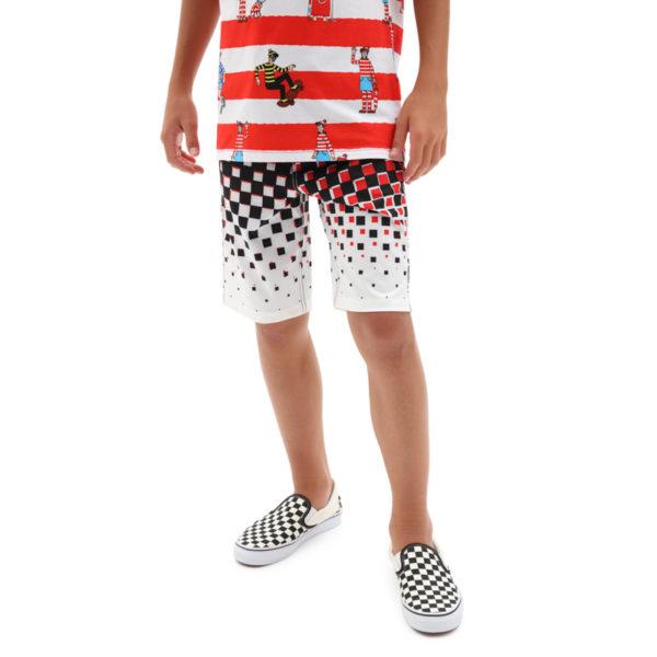 Costume Vans Boy Checker Fade Boardshort