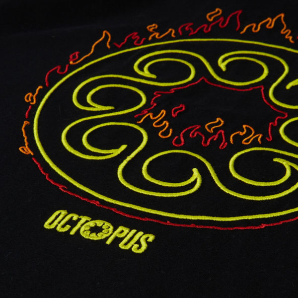 T-shirt Octopus More Fire Logo Tee
