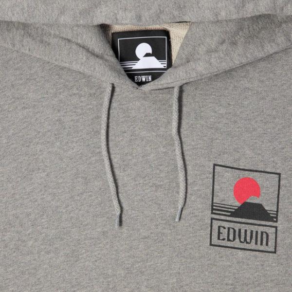 Felpa Edwin Sunset On Mt. Fuji Hoodie Sweat