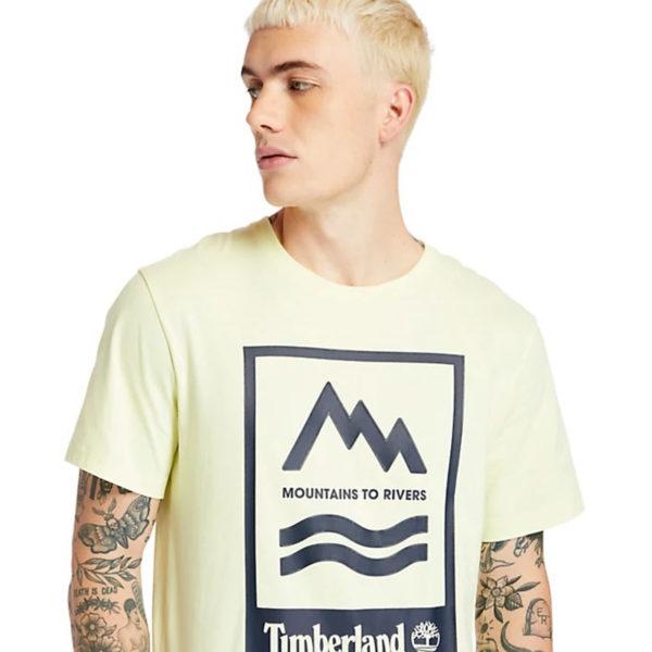 Timberland Print Badge Tee
