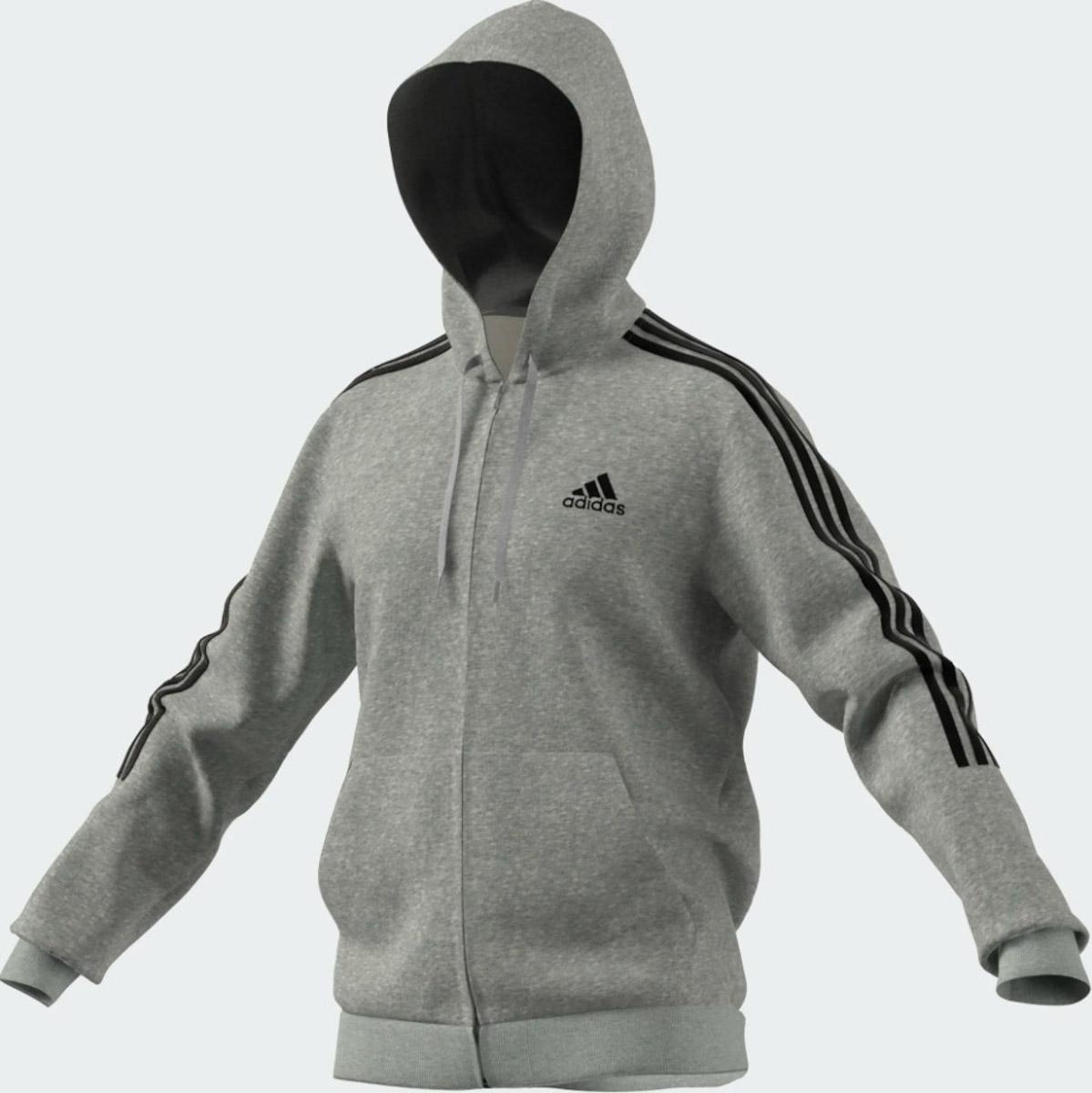 Felpa Adidas Men Cut 3S Fullzip Hoodie