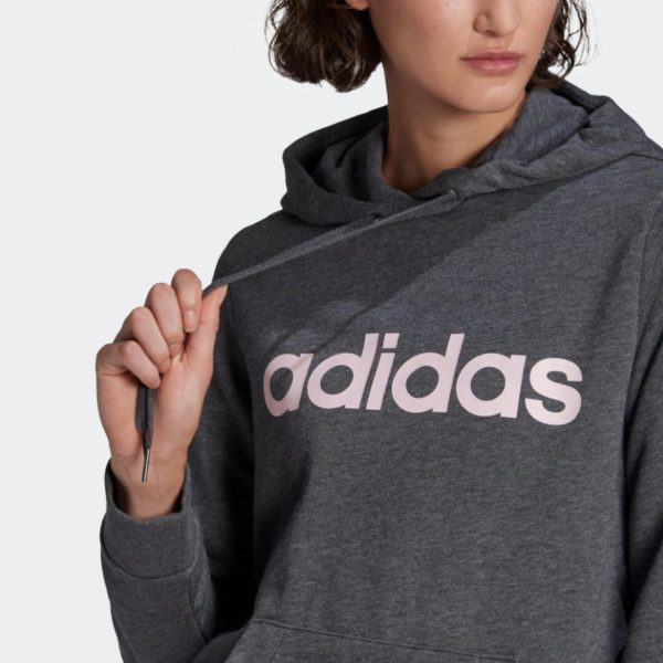 Felpa Adidas Women Lin FT Hoodie