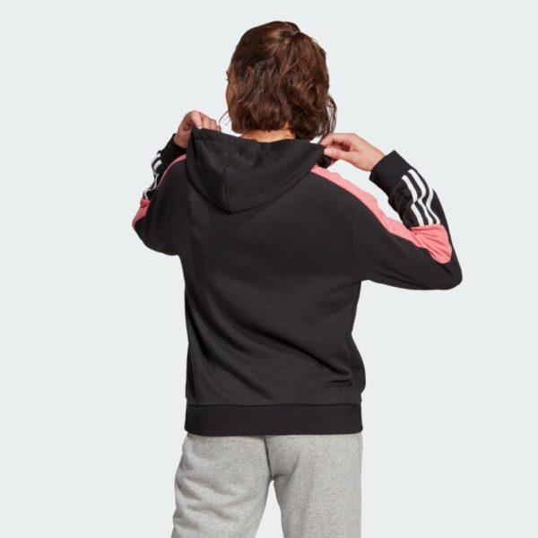 Felpa Adidas Women Colorblock Lin Hoodie