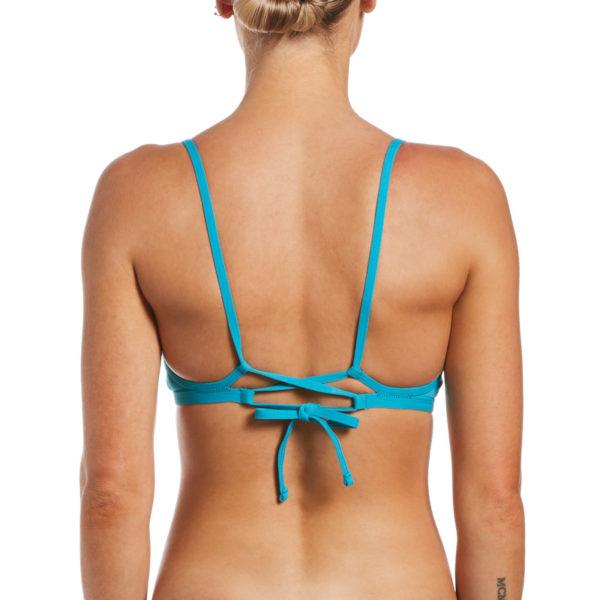 Costume Nike Lace Up Tie Back Bikini Top