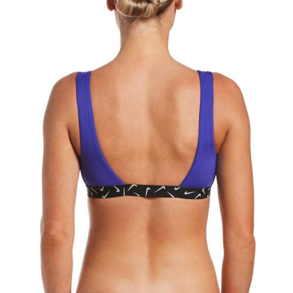 Costume Nike Scoop Neck Bikini Top