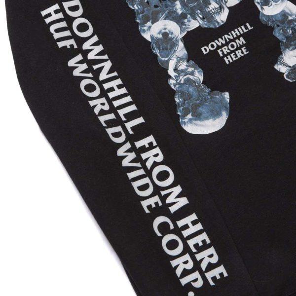 Felpa Huf Skulls Classic H PO Hoodie