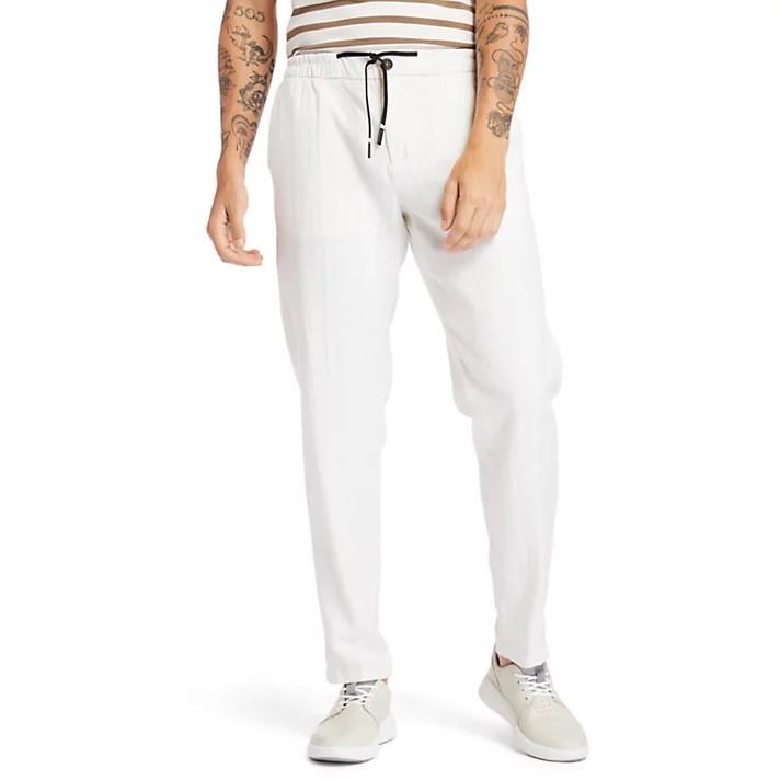 Pantaloni Timberland Linen Jogger